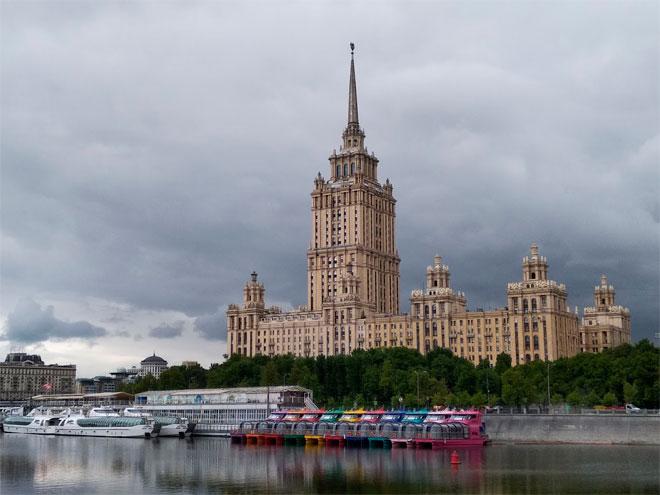 Пассажирская навигация поМоскве-реке вэтом году открылась 23 июня