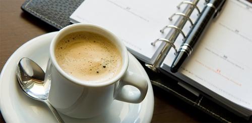 Неожиданное пространство для кофейни