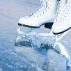 На катке в Алексеевском тренируются даже хоккеисты