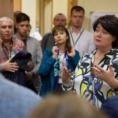 5 сентября, бизнес-тур, офис «В НОВОГИРЕЕВО». Марина Толстик, Управляющий партнёр «МИЭЛЬ-Сеть офисов недвижимости»