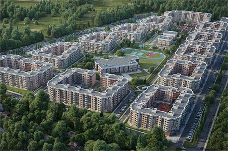 Микрорайон «Мытищи Lite» – жилой комплекс в гармонии с природой