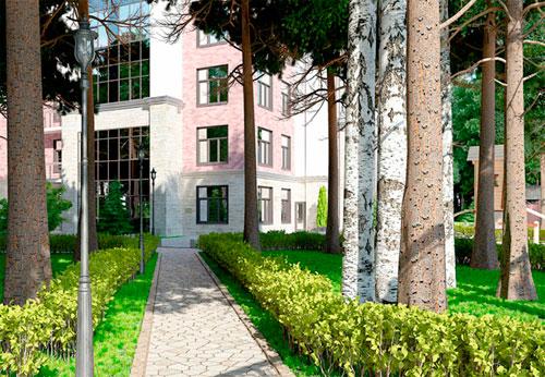 «Дом на Тихой»: Современный комплекс с сохраненной вековой природой