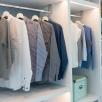 В большинстве московских квартир не хватает гардеробной